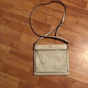 Kate spade cream colored crossbody bag